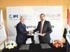 توقيع مذكرة تفاهم  للتعاون بين مصرف التنمية الدولي ومؤسسة التمويل الدولية IFC في مجال الاستثمار والاستشارات
