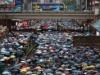 """عشرات الآلاف ينظمون مسيرات """"سلمية وعقلانية"""" في هونغ كونغ"""