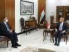 رئيس مجلس القضاء الاعلى يستقبل رئيس اللجنة التحقيقية