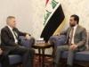 الحلبوسي يؤكد للسفير الأميركي أهمية الحوار لحل مشاكل المنطقة