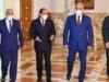 لبحث الأزمة الليبية.. السيسي يلتقي صالح وحفتر
