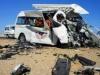 مصر.. ارتفاع حصيلة ضحايا حادث طريق الكريمات إلى 20 شخصا