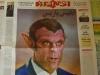 """""""إبليس باريس"""".. صحيفة إيرانية تنشر رسما كاريكاتوريا لماكرون"""